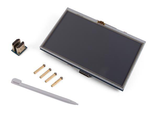 écran tactile hdmi-b pour raspberry pi® - 5 - 800 x 480