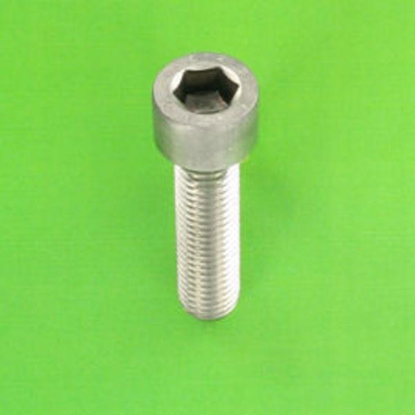 10x vis à tête hexagonale inox a2 m4 25mm