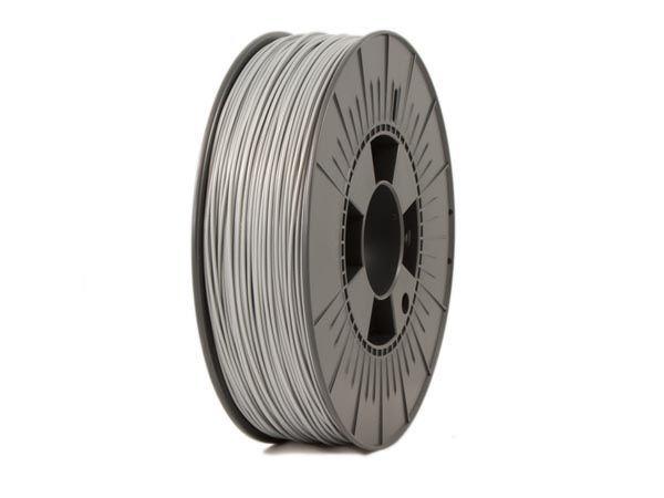filament pla 1.75 mm - gris argenté - 750 g