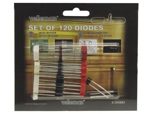 assortiment de 120 diodes
