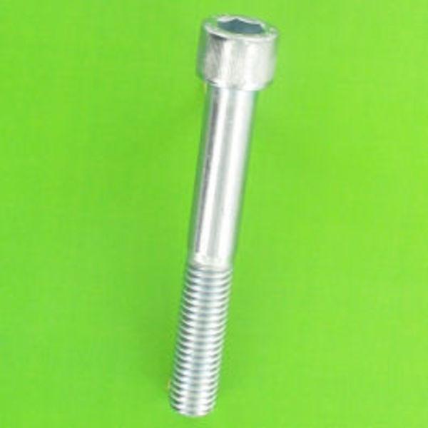 4x vis à tête hexagonale inox a2 m4 50mm