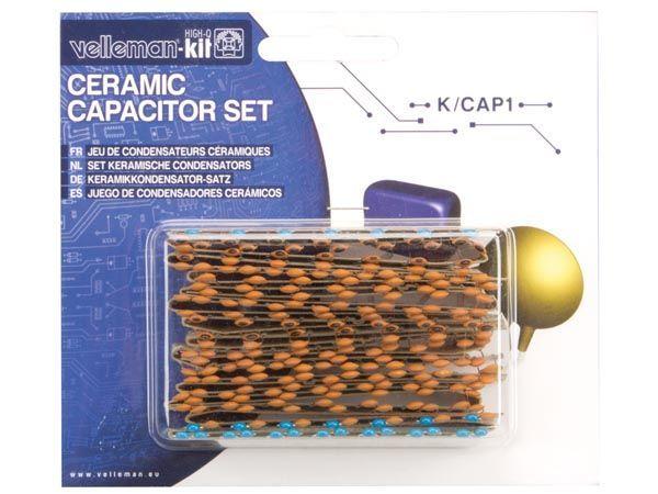 jeu de condensateurs céramiques