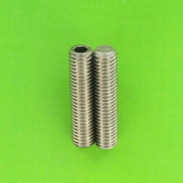1x vis sans hexagonale inox a2 m8 20mm pour extrudeur prusa