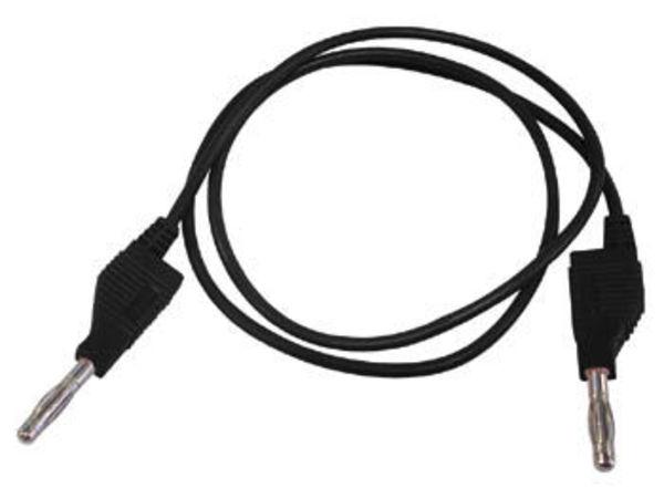 cordons de mesure (fiche banane 4mm) / noir